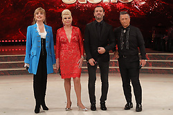 Milly Carlucci, Ivana Trump, Rossano Rubicondi, Paolo Belli appear on an episode of Dancing with the Stars - Rome