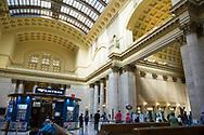 Interiör av Union Station Chicago.<br /> <br /> Foto: Christina Sjögren