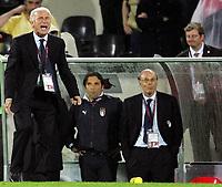 Italiens Trainer Giovanni Trapattoni. (NO MOBILE - NO PDA - NO MMS). © Valeriano Di Domenico/EQ Images