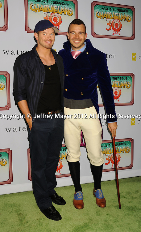 LOS ANGELES, CA - DECEMBER 08: Kellan Lutz and Charlie Ebersol attend Charlie Ebersol's 'Charlieland' Birthday Party And Charity: Water Fundraiser on December 8, 2012 in Los Angeles, California.