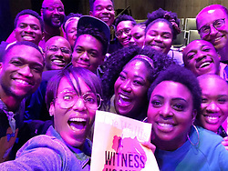 """Kerry Washington releases a photo on Instagram with the following caption: """"HOLY FRIGGIN MOLY!!! Last night  I witnessed an evening of theater that was TRANSFORMATIVE. @witnessuganda is must see theater. Brilliant. Moving. Important. Oh. And did I mention that @ledisi is in it?!?!?! And, of course, she\u2019s phenomenal. EVERYONE is. So inspiring. #witnessuganda #wallisannenberg"""". Photo Credit: Instagram *** No USA Distribution *** For Editorial Use Only *** Not to be Published in Books or Photo Books ***  Please note: Fees charged by the agency are for the agency's services only, and do not, nor are they intended to, convey to the user any ownership of Copyright or License in the material. The agency does not claim any ownership including but not limited to Copyright or License in the attached material. By publishing this material you expressly agree to indemnify and to hold the agency and its directors, shareholders and employees harmless from any loss, claims, damages, demands, expenses (including legal fees), or any causes of action or allegation against the agency arising out of or connected in any way with publication of the material."""