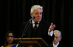File photo dated 22/03/18 of Speaker of the House of Commons John Bercow. Baroness Boothroyd has said that the Commons speaker should stand down before the next election.
