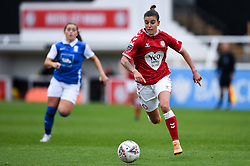 Chloe Logarzo of Bristol City Women - Mandatory by-line: Ryan Hiscott/JMP - 18/10/2020 - FOOTBALL - Twerton Park - Bath, England - Bristol City Women v Birmingham City Women - Barclays FA Women's Super League