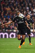 021418 Real Madrid vs Paris Saint-Germain UEFA Champions League