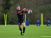Rugby Union - 2020 Six Nations Championship - England Training Session & Press Conference pre-Ireland<br /> <br /> England's George Ford, at Pennyhill Park Hotel.<br /> <br /> COLORSPORT/ASHLEY WESTERN