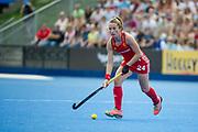 Shona McCallin. England v The Netherlands, Lee Valley Hockey and Tennis Centre, London, England on 11 June 2017. Photo: Simon Parker