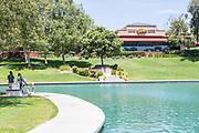 Temecula Duck Pond Park and Pat And Oscars Restaurant