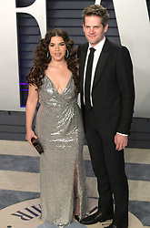 February 24, 2019 - Beverly Hills, California, U.S - America Ferrera (L) and Ryan Piers on the red carpet of the 2019 Vanity Fair Oscar Party held at the Wallis Annenberg Center in Beverly Hills, California on Sunday February 24, 2019. JAVIER ROJAS/PI (Credit Image: © Prensa Internacional via ZUMA Wire)