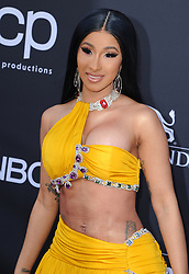Cardi B at the 2019 Billboard Music Awards held at the MGM Grand Garden Arena in Las Vegas, USA on May 1, 2019.