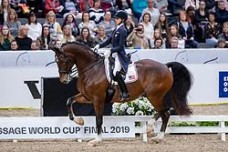 Graves Laura, USA, Verdades<br /> LONGINES FEI World Cup™ Finals Gothenburg 2019<br /> © Hippo Foto - Stefan Lafrentz<br /> 05/04/2019