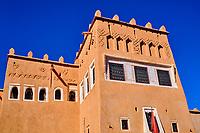 Maroc, Haut Atlas, région de Souss-Massa-Draa, Ouarzazate, Kasbah de Taourirt // Morocco, High Atlas, Souss-Massa-Draa, Ouarzazate, Kasbah of Taourit