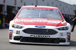 September 21, 2018 - Richmond, Virginia, United States of America - Paul Menard (21) brings his car back to the garage during practice for the Federated Auto Parts 400 at Richmond Raceway in Richmond, Virginia. (Credit Image: © Chris Owens Asp Inc/ASP via ZUMA Wire)