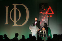 Steve Davis speaking at IoD Sporting Lunch.