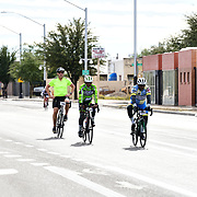 El Tour de Tucson 2019 finishers on 6th Avenue. Bike-tography by Martha Retallick.