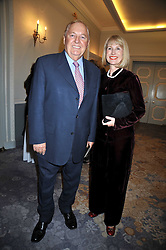 ALAN BOND and his wife DIANA at the 3rd Fortune Forum Summit held at The Dorchester Hotel, Park Lane, London on 3rd March 2009.