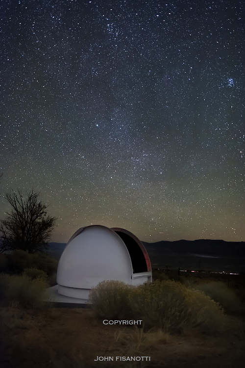 A private observatory under the stars