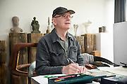 Merelbeke, Belgium, Jun 23, 2009, Bronzefoundry De Groeve. PHOTO © Christophe Vander Eecken