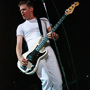EASTON - MARCH 31: Bryan Adams performs at State Theatre on March 31, 2001, in Easton, Pennsylvania. ©Lisa Lake