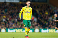 Norwich City midfielder James Maddison (23) during the EFL Sky Bet Championship match between Norwich City and Barnsley at Carrow Road, Norwich, England on 18 November 2017. Photo by Phil Chaplin.