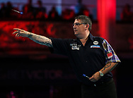 Gary Anderson during the BetVictor World Matchplay at Winter Gardens, Blackpool, United Kingdom on 22 July 2018. Picture by Chris Sargeant.