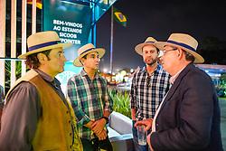 Churrasco de confraternização de cooperativados Sicoob, durante a 42ª Expointer, no Parque de Exposições Assis Brasil, em Esteio/RS. O evento teve apresentação do músico Marco Lima. Foto: Cesar Lopes/ Agência Preview