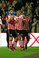 Football - 2016 / 2017 League Cup - Round 4: Southampton vs Sunderland<br /> <br /> Southampton's Sofiane Boufal celebrates his goal at St Mary's Stadium Southampton <br /> <br /> COLORSPORT/SHAUN BOGGUST