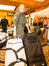 28.01.2014,  Marriott, Wien, AUT, Sochi 2014, Einkleidung OeOC, im Bild Lisa Hauser (Biathlon, AUT) // Lisa Hauser (Biathlon, AUT) during the outfitting of the Austrian National Olympic Committee for Sochi 2014 at the  Marriott in Vienna, Austria on 2014/01/28. EXPA Pictures © 2014, PhotoCredit: EXPA/ JFK