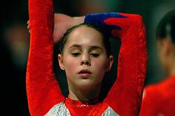 30-04-2004 TURNEN: EUROPEES KAMPIOENSCHAP DAMES: AMSTERDAM<br /> Loes Linders<br /> ©2004-www.fotohoogendoorn.nl