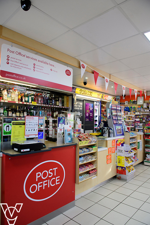 General view of the inside of the new Matley Post Office<br /> <br /> Shailesh Vara MP has cut the ribbon to official opening of the brand new Matley Post Office, part of the Londis Store, Matley, Orton Brimbles, Peterborough. The store is owned by Subramaniam Nithythasan and Subramaniam Nithaharan.<br /> <br /> Date: April 5, 2019