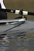Seville. SPAIN, 18.02.2007, GBR M1X Dan RICTCHIE,, moves away from the start pontoon during Sunday morning's  heats, at the FISA Team Cup, held on the River Guadalquiver course. [Photo Peter Spurrier/Intersport Images]    [Mandatory Credit, Peter Spurier/ Intersport Images]. , Rowing Course: Rio Guadalquiver Rowing Course, Seville, SPAIN,
