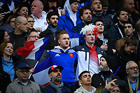 Rugby Union - 2020 Guinness Six Nations Championship - France vs. England<br /> <br /> French fans singing the anthem, at The Stade de France, Paris.<br /> <br /> COLORSPORT/ASHLEY WESTERN