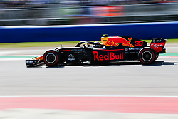 October 21, 2018 - Austin, TX, U.S. - AUSTIN, TX - OCTOBER 21: Red Bull Racing driver Max Verstappen (33) of Netherlands races towards turn 16 during the F1 United States Grand Prix on October 21, 2018, at Circuit of the Americas in Austin, TX. (Photo by John Crouch/Icon Sportswire) (Credit Image: © John Crouch/Icon SMI via ZUMA Press)