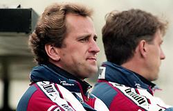 May 29, 1997 - BorS, SVERIGE - 960918 AIKs trŠnare Erik HamrŽn och assisterande trŠnare Kjell Jonevret under finalen i Svenska Cupen mellan Elfsborg och AIK den 29 Maj 1997 i BorŒs..Bildbyran / 20662 (Credit Image: © Bildbyran via ZUMA Wire)