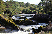 The Sheen River, Kenmare, Kerry Ireland.<br /> Photo Don MacMonagle