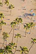Waikiki Beach, Hilton Hawaiian Village, Honolulu,  Oahu, Hawaii