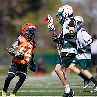 Pleasanton Storm Lacrosse Club in a youth lacrosse game at Patelco Sports Complex, Pleasanton CA on 3/21/21. (William Gerth/www.williamgerth.com)
