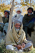Mcc0018106 . SundayTelegraph..For the Sunday Telegraph..Afghans at a Shura or meeting in the Nad e'Ali district of Helmand province, southern Afghanistan...Afghanistan 8 November 09