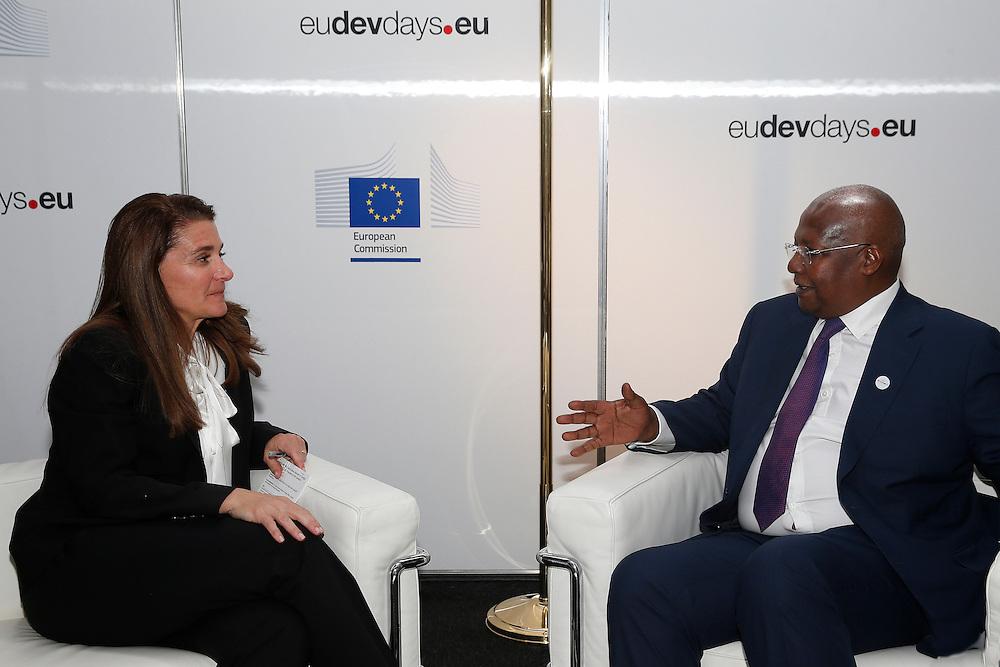 20150603- Brussels - Belgium - 03 June2015 - European Development Days - EDD  -  Melida Gates BMGF and Sam Kutesa © EU/UE