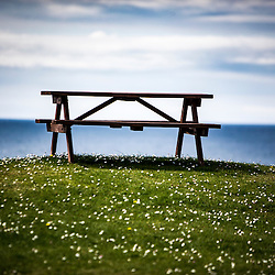 Bench at Tangasdale, Isle of Barra