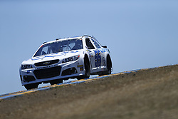 June 23, 2017 - Sonoma, CA, United States of America - June 23, 2017 - Sonoma, CA, USA: Tommy Regan (55) takes to the track to practice for the Toyota/Save Mart 350 at Sonoma Raceway in Sonoma, CA. (Credit Image: © Justin R. Noe Asp Inc/ASP via ZUMA Wire)