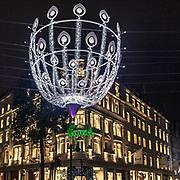 ecorazione natalizie in Bond Street, la famosa via della moda in Mayfair, elegante quartiere in centro a Londra<br /> <br /> Christmas light in #Bondstreet the famous fashion street in #Mayfair, the elegant district in #CentreLondon