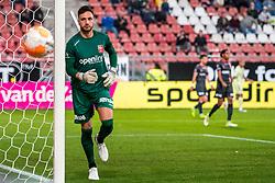 27-09-2018 NED: FC Utrecht - MVV Maastricht, Utrecht<br /> First round Dutch Cup stadium Nieuw Galgenwaard / Luuk Koopmans #1 of MVV