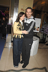 BELLA FREUD and RUPERT EVERETT at the 10th Anniversary Party of the Lavender Trust, Breast Cancer charity held at Claridge's, Brook Street, London on 1st May 2008.<br /><br />NON EXCLUSIVE - WORLD RIGHTS