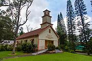 Puula Congregational Church, 1865, Pahoa, Island of Hawaii