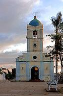Church in Vinales, Pinar del Rio, Cuba.