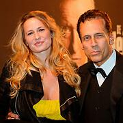 NLD/Amsterdam/20111017 - Premiere De Heineken Ontvoering, Claudia van Zweden en partner Robert Schoemacher