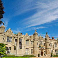 Blue skys at Hengrave Hall, Suffolk