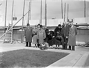 24/04/1957<br /> 04/24/1957<br /> 24 April 1957<br /> <br /> Commemoration of Easter 1916 - Laying of Wreath at Arbour Hill