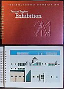 PRODUCT: Book<br /> TITLE: Prairie Region Exhibition<br /> CLIENT: The Royal Canadian Academy of Arts