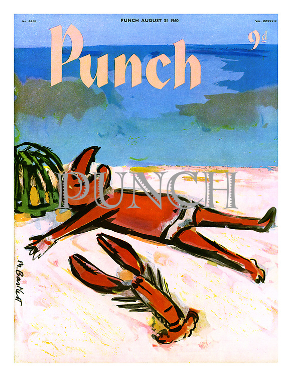 Punch cover, 31 August 1960